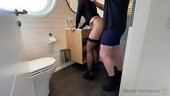 Secret Sex During Dinner Party At Friend'S - Projectsexdiary