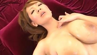 Busty Japanese Pornstar Hitomi Tanaka Enjoys Pleasuring Lot Of Guys