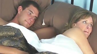 Milf Sharing Bed With 20yo Boss - Jodi West