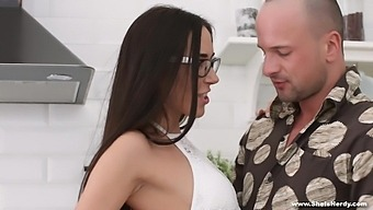 Kerry Cherry In Nerdy Girl In A Mood For Anal