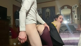 Gape Queen Anal Training Continues