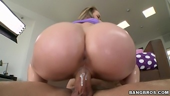 Wild Fucking In Standing Position With Hot Ass Madison Chandler