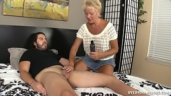 Guy Has No Idea Why A Taboo Handjob With Tracy Could Feel So Great