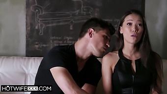 Cheating Asian Wife Kalina Ryu Loves His Huge Cock
