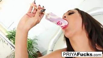 Indian Milf Priya Rai Shows Off Her Bj Skills On A Dicksicle