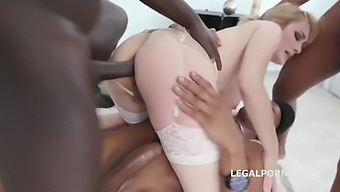 Maxim Law - Double Anal Interracial