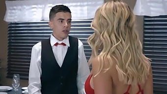 Jordi El Nino Polla And Kat Dior In Sex Hungry Wife Cheats With A Young Waiter At The Restaurant