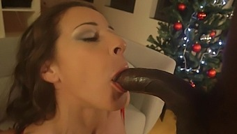 Black Man Slides His Fat Dick In Tight Butt Of Sexy Martina Gold