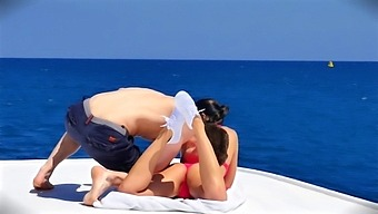 """Bruce Venture - Taissia Shanti In """"Russian Blue"""" -Acrobatic Sex With Fit Russian Babe On A Boat."""