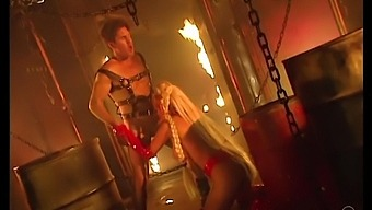 Hardcore Bdsm Sex With Provocative Blonde Jenna Jameson In Leather