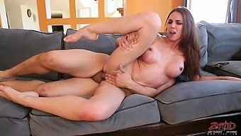 Seductive Brunette Tiffany Tyler Drops Her Thong For Wild Fucking
