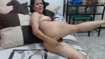 50yo Milf Hairy Pussy Fingring Webcam
