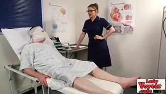 Nurse Naughty Demands Patient Masturbate
