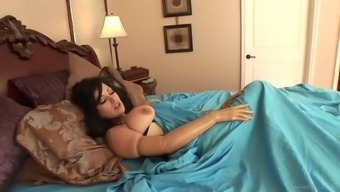 Nasty Milf With The Use Of Major Nipples,In Leather Take Pleasure In Her Brushed Pussy Chastisize