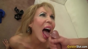 Grow Older And Attractive Erica Lauren Impact And Fucks A Youthful Stud