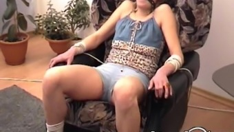 All Natural Russian Blond Gagged And Bound Just Like A Legitimate Slavery Slut