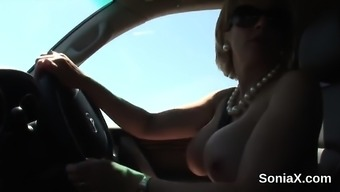Disloyal Uk Age Woman Sonia Shows Off Her Addict Mammary