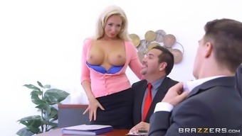 Olivia Coyote Applying Her Major Tits To Guarantee New Abilities For The Company