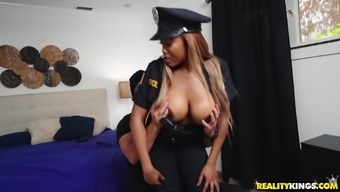 Moriah Mills Is Basically A Policewoman With Huge Boobs Ready For A Penis