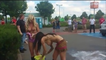 Moist And Topless Girls Show Their Titties Off Government Departments