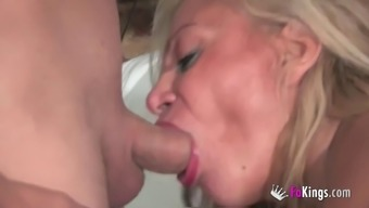 Alexa Blune Is Typically A Blonde Cougar That Wants To Use With Guys