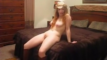 Curvy Cowgirl Fucked On Livecam