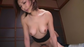 This Gorgeous Japanese People Baby Is Basically A Sexual Intercourse Equipment And She'S Purchased A Fine Hairy Pussy