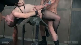Kinky Roam Stunning Bella Rossi Gets Each Of Her Cracks Exploded Out By A Few Tough Cock