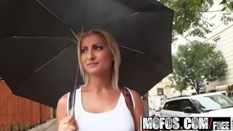 Mofos - Allow Try Out Anal Passage - Celine Baby Doll - Anus Courses For Celin