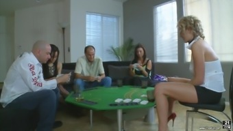 Zoey Holloway Has Got A Wonderful Time While Being An Element Of An Orgy