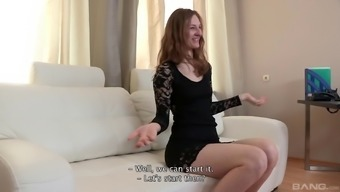 Lean Date Having The Brunette Body Hair Encourages The Duded Movie Her In The Course Of The Love-Making