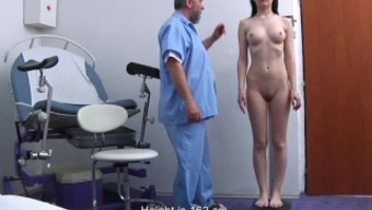 Timea Gyno Examination - Rectum And Genital Assessment Before Speculum Insertion