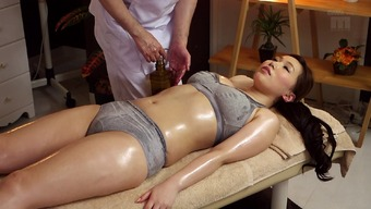 Hot Japanese Milf Toward The Massage Table For Touch Fucking