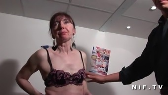 Naughty French Language Grow Older Popped Fists Fucked And Sodomized