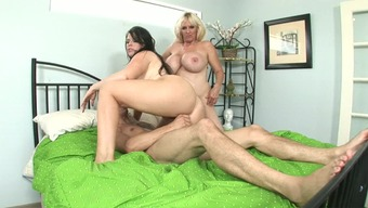 Great Titties Matured In Casks Blonde Cycling Large Prick Exhibiting Her Nice Stupid Ass
