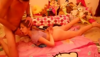 Stepdaughter Helps Stepdad Forget About Wife Wf
