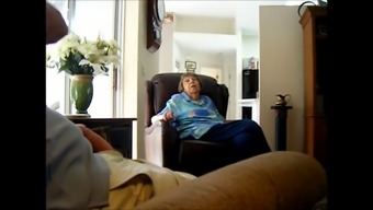 Man Massage Techniques His Penis While You Are Conversing With A Nan