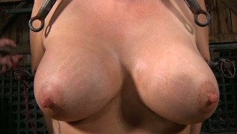 Large Boobed Encircled Moaner Needs To Suffer Like She S In Torture