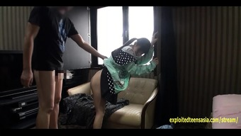 Small Jav Teenager Fucks In Her Hoodie Upon The Sofa Really Gorgeous