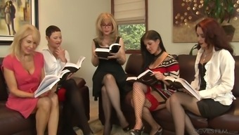 Nina Hartley Is Arguably One Bootylicious Senior Girl And She Or He Loves Lesbian Orgies