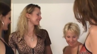 Lesbian Hotties Employing Their Mouths &Amp; Their Own Fingers