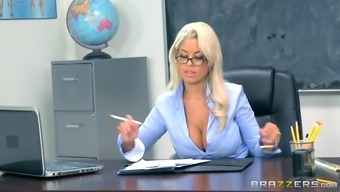 Bridgette Is Perhaps All Those Professors Who Exactly Benefit From The Challenging Pussy Drilling