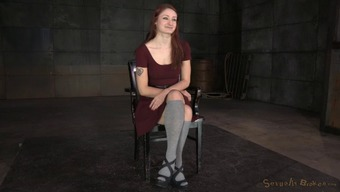 Gorgeous Redhead Abused By Her Fully Understand As A Bad Missy