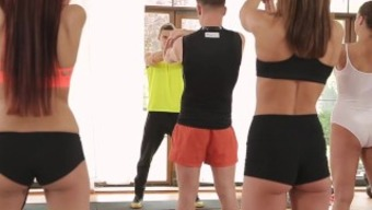 Fitnessrooms Barbara Bieber Has Got A Sex Based Work Out After Health Club Elegance