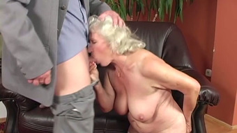 Ugly Light Old Nasty Person With The Use Of Limp Boobs Gets Her Grow Older Appalling Crimson Eaten