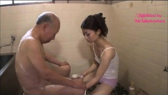 Japanese Wifey Natsume And Father-In-Law 2 (Mrbonham)