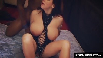 Pornfidelity Angela Light Colored Accepts A Pair Of Cocks