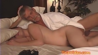 Father Wedged Fucking Teen Dame Daughter