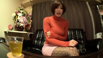 From Asia Stunning Girl Tutor Showing Her Second Job
