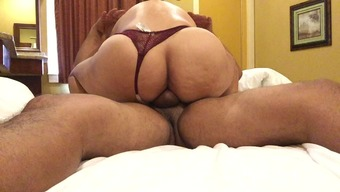Grow Older Colombian Riding Penis